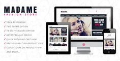 See More Madame - Responsive Fashion Store Magento Themewe are given they also recommend where is the best to buy