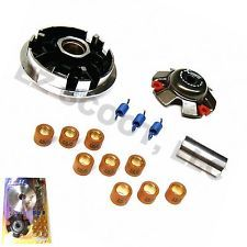 125/150cc HIGH PERFORMANCE VARIATOR COMPLETE SET FOR SCOOTERS WITH GY6 ENGINES