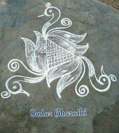 Rangoli Designs Latest, Rangoli Designs Flower, Rangoli Border Designs, Small Rangoli Design, Rangoli Ideas, Rangoli Designs Diwali, Rangoli Designs With Dots, Rangoli Designs Images, Kolam Rangoli