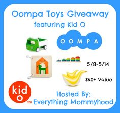 Bloom Into Baby: Oompa Toys Giveaway - Ends 5/14