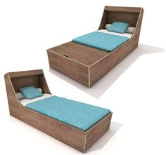 Achille Toddler to Teen Concept Bed