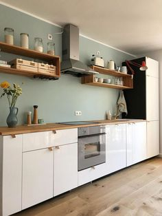 This kitchen dream comes from community member nikogwendo! Discover even more . - wohnen küche 30 Fun and Fresh Decor Ideas to Make Your Kitchen Wall Looks Amazing Diy Kitchen Decor, Home Decor Kitchen, Home, Kitchen Remodel, Kitchen Decor, Interior Design Kitchen, Home Kitchens, Kitchen Renovation, Kitchen Design