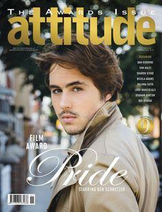 Tom Daley, Boy George, Dan Osbourne + More Cover Attitude November 2014 Issue image Ben Schnetzer Attitude November 2014 Cover