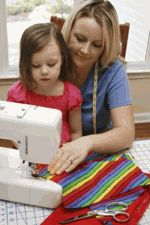 Teaching your child, your teenager or yourself to sew -- curriculum