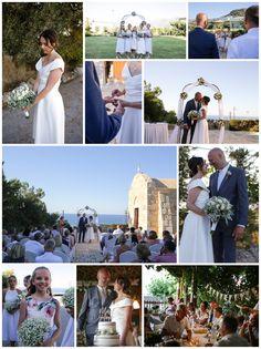 www.weddingsincrete.co.uk Chapel Wedding, Crete, Real Weddings, Wedding Planner, Table Decorations, Image, Wedding Planer, Wedding Planners, Dinner Table Decorations