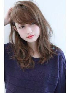 【air-GINZAtower】シルキーシェイプカール:L003528931 エアーギンザタワー(airGINZA tower)のヘアカタログ ホットペッパービューティー Lob Hairstyle, Hairstyles With Bangs, Pretty Hairstyles, Cut My Hair, Hair Cuts, Of Hair, Medium Hair Styles, Curly Hair Styles, Hair Arrange