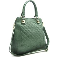 """-Zipper top closure  -Textured faux leather  -Back zipper pocket  -Inside lining with open/zip pockets  -16"""" handles ,49"""" adjustable strap  =15.5 (W) x 5 (D) x 14 (H) inches"""