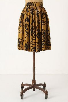 Sariah's Calligraphy Strokes Skirt...#LOVE