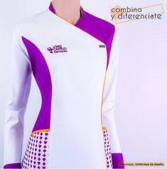 RM-15084 Medical Uniforms, Work Uniforms, Beauty Uniforms, Doctor Coat, Hotel Uniform, Scrubs Uniform, Sewing Blouses, Blazer Pattern, Batik Fashion