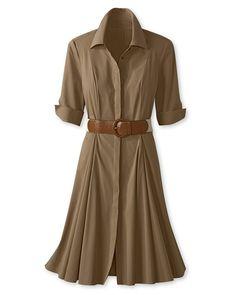 I have always loved shirtwaist dresses.