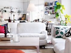 An old favourite - the home of Swedish stylist Nanna Lagerman