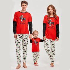 8403dc1d5708 Christmas Pyjamas Set Family Matching Clothes Father Mother And Daughter
