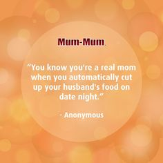 You can leave your baby at home but not your mothering instincts 😜 Sweet Sayings, Sweet Quotes, Mother And Father, Mom, Words, Funny, Baby, Cute Words, Funny Parenting