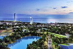 Lamda Development is ready to proceed with the next phase of the Hellinikon project to transform Athens' former airport into a metropolitan park. Seattle Skyline, Paris Skyline, New York Skyline, Still Waiting, Investors, Marina Bay Sands, Athens, San Francisco Skyline, Greece