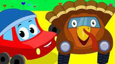 lets give thanks | thanksgiving | nursery rhymes | little red car