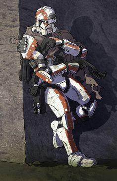 Outer Rim Clone Trooper