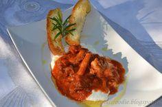 Giuli Foodie: Zuppetta di Moscardini con Crema di Ricotta