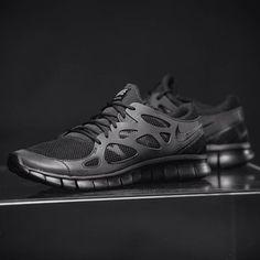 Nike Free run 2.0 schwarz black sneaker - online kaufen auf PURISD.de