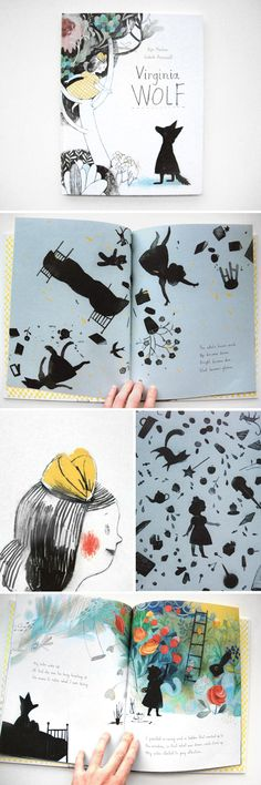 """Virginia Wolf"", written by Kyo Maclear, illustrated by Isabelle Arsenault A pretty little treasure"