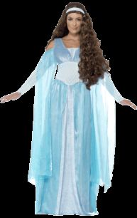 Adult Medieval Maiden Deluxe Costume