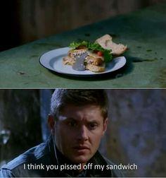 Supernatural funny Dean Winchester