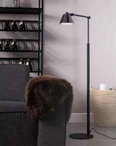 Stehleuchte Dekorativ Designer Leuchte LED Metall Schlafzimmer