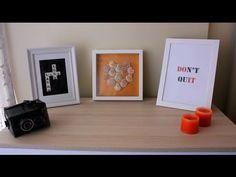 DIY | Kendin Yap | Oda Dekorasyonu - YouTube