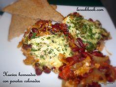 Huevos horneados con porotos colorados | Le Cookbook