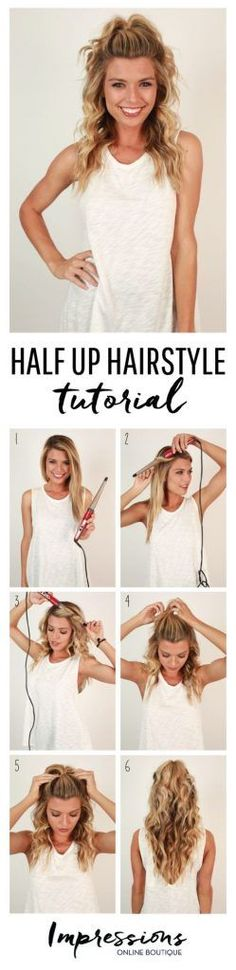 Getting cute and creative hair in the morning can be seemingly impossible when you're a girl on the go. Don't worry…that's where we come in! Here are 11 super cute and easy hairstyles to whip up the next time you're out of ideas and in a hurry!