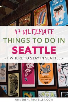 Clueless about what to do in Seattle? Here is a list of all the fun things to do in Seattle during your stay at the so-called Emerald City. Small Luxury Hotels, Luxury Travel, South Lake Union, City By The Sea, Seattle Travel, Emerald City, Travel Tips, Travel Destinations, United States Travel