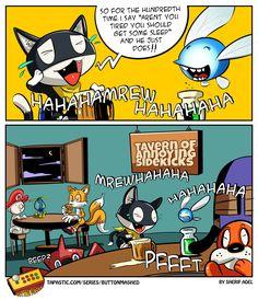 Still love you Morgana! (OC) [x-post from /r/Persona5]