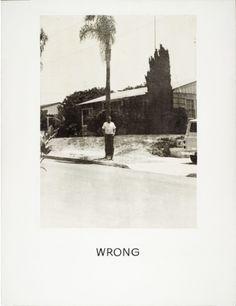 Wrong 1966- 1968, John Baldessari