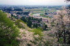 Beautiful Kakunodate in spring.