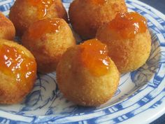 Las Recetas de Marichu.... y las mias: Croquetas de Camembert con Mermelada de Pimientos ...