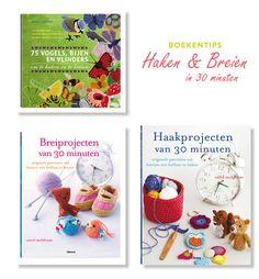Snelle haakpatronen - top 3 snelle haak- en breipatroon boeken | Moodkids