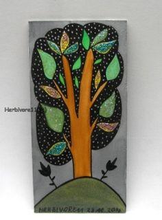 Tiere und Kunst von Herbivore11 - Funkelbäumchen Nr. 7