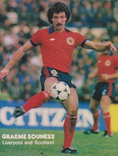Graeme Souness Liverpool & Scotland 1981