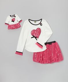 Adorable matching sets from Dollie & Me. Perfect for Christmas - guaranteed delivery