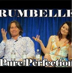 Rumbelle - Robert Carlyle and Emilie de Ravin. They're so adorable Once Upon A Time, Rumple And Belle, Favorite Tv Shows, My Favorite Things, Emilie De Ravin, Between Two Worlds, Rumpelstiltskin, Robert Carlyle, Outlaw Queen