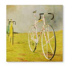 Image of Le Tour - Bicycle photo Tour de France biker bikes mustard yellow bicycle print cycling Bicycle Print, Bicycle Design, Painting Prints, Art Prints, Canvas Art, Canvas Prints, Canvas Size, Pink Wall Art, Cycling Art