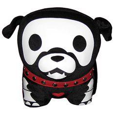 puppy skeleton pillow