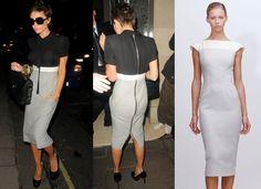 Victoria-Beckham Victoria Beckham Clothing Line, Victoria Beckham Outfits, Peplum Dress, High Waisted Skirt, Women Wear, Fashion Outfits, Skirts, How To Wear, Clothes