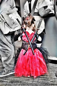 Princess Deadpool. I know Scott will do this if we ever have a daughter