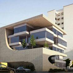Maison et Objet 2018 Urban Architecture, Futuristic Architecture, Beautiful Architecture, Contemporary Architecture, Rendering Architecture, Architecture Diagrams, Architecture Portfolio, Building Exterior, Building Design