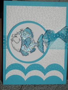 SC417 Fishy Friends by jo1171 - Cards and Paper Crafts at Splitcoaststampers
