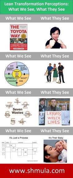 Lean Transformation Perceptions: What We See, What They See