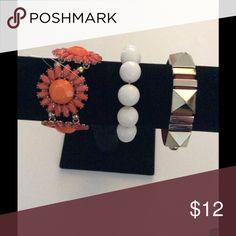 BUNDLE  OF 4 FASHION BRACELETS NWOT BUNDLE  OF 4 FASHION BRACELETS NWOT Jewelry Bracelets