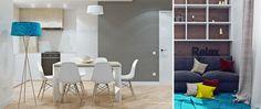 interior design guest bedroom, dining room