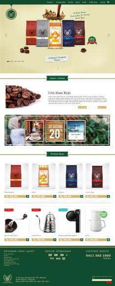 Web desain TOARCO Makassar By foubox.com