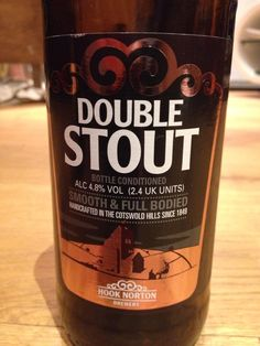 Hook Norton Double Stout 4.8%, Cotswolds, Provided by Beerbods